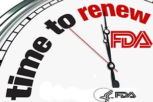 Gia hạn đăng ký với FDA