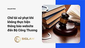 Chế tài xử phạt khi không thực hiện thông báo website đến Bộ Công Thương