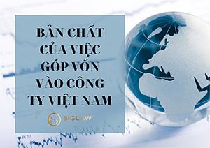 Bản chất của việc góp vốn vào công ty Việt Nam