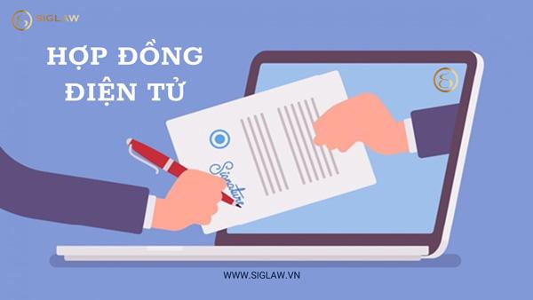 Quy định liên quan đến hợp đồng điện tử