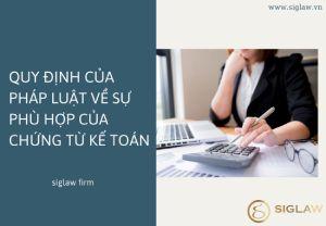 Quy định của pháp luật về chứng từ kế toán