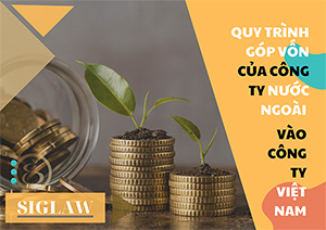 Quy trình góp vốn của công ty nước ngoài vào công ty Việt Nam