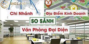 So sánh chi nhánh, văn phòng đại diện và địa điểm kinh doanh