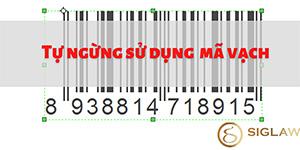 Hướng dẫn thủ tục tự ngừng sử dụng mã số, mã vạch