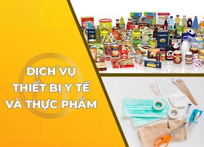 Dịch vụ Giấy phép Thiết bị Y tế, Thực phẩm và Chứng nhận quốc tế để xuất khẩu