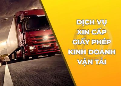 Dịch vụ tư vấn xin Giấy phép kinh doanh vận tải