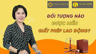 Các trường hợp được miễn giấy phép lao động cho người lao động nước ngoài tại Việt Nam